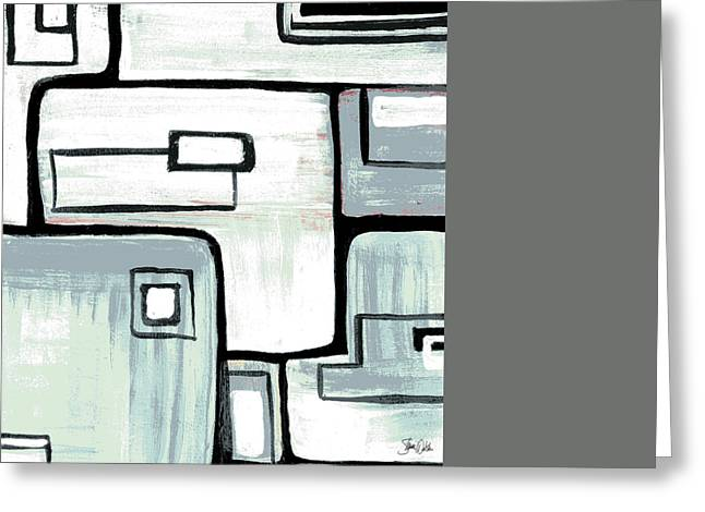 Abstract IIi Greeting Card by Shanni Welsh