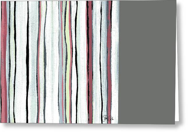 Abstract Iv Greeting Card by Shanni Welsh