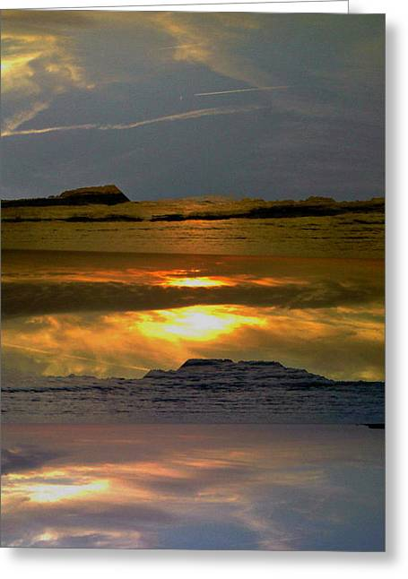 Abstract-just Like Heaven Greeting Card