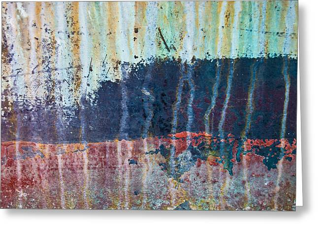 Abstract Landscape Greeting Card by Jani Freimann