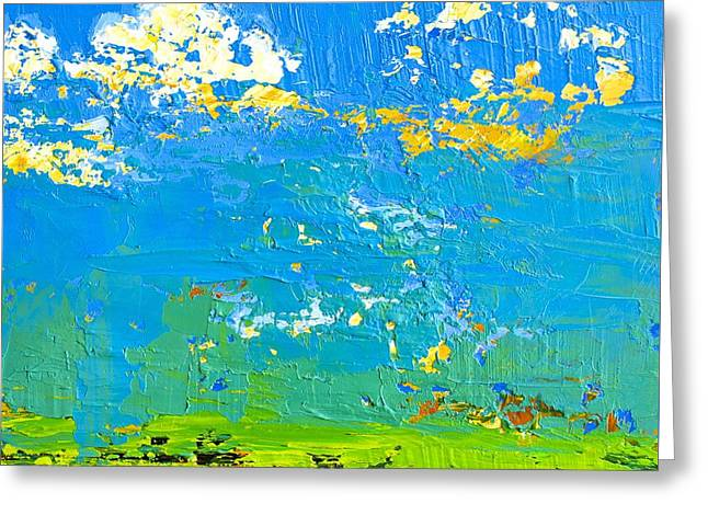 Abstract Landscape No 8 Greeting Card