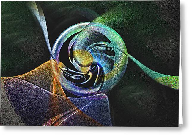 Abstract Llv Greeting Card by Tyler Robbins
