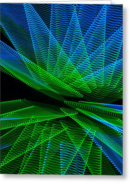 Abstract Number 4 Greeting Card by Garry Gay