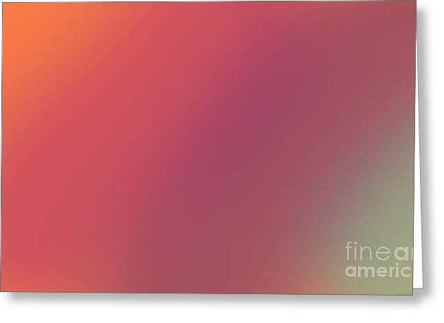Abstract And Polychromatic Background 1 Greeting Card by Enrique Cardenas-elorduy