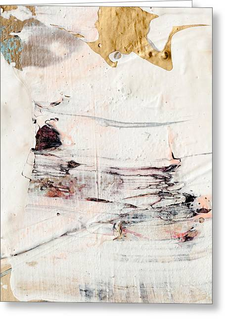 Abstract Original Painting Number Eleven Greeting Card