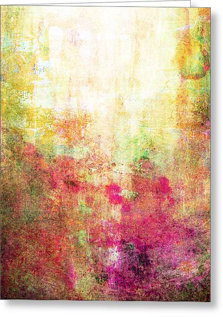 Abstract Print 14 Greeting Card by Filippo B