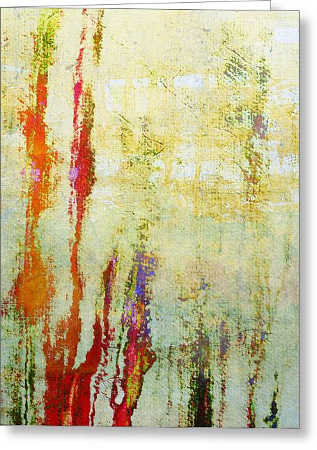 Abstract Print 17 Greeting Card by Filippo B