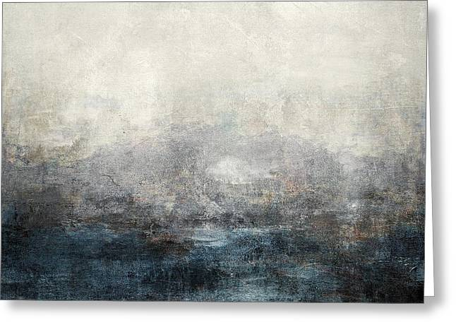 Abstract Print 9 Greeting Card by Filippo B