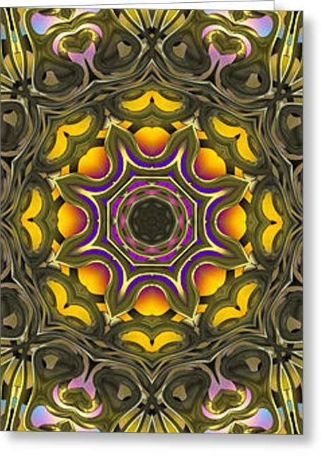 Abstract Rhythm - 38 Greeting Card