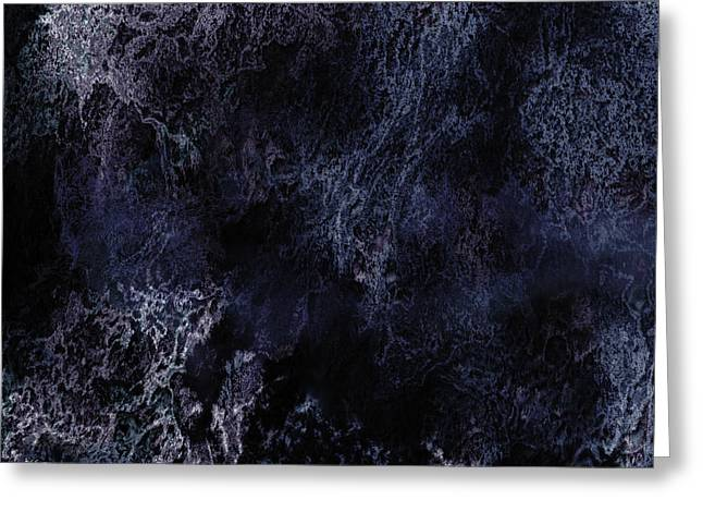 Abstract Scenery No.6 - Nightmare Greeting Card by Wolfgang Schweizer