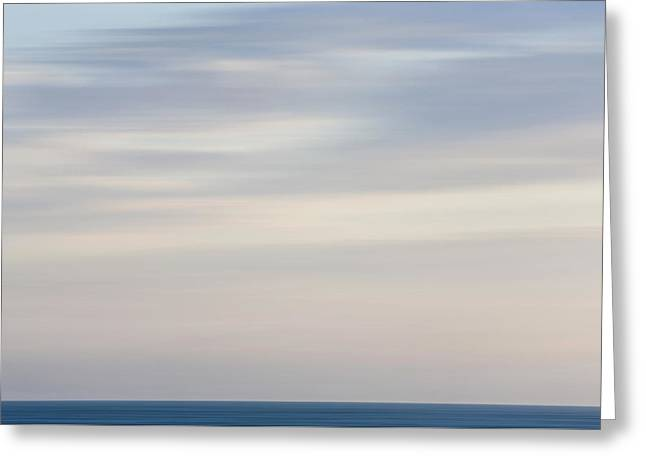 Abstract Seascape No. 01 Greeting Card