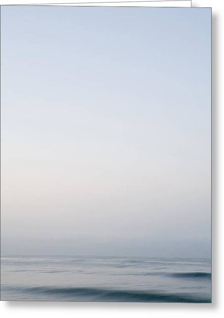 Abstract Seascape 2 Greeting Card