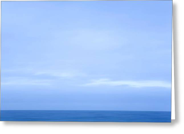 Abstract Seascape No. 07 Greeting Card