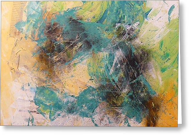 Abstract Spring 2 Greeting Card