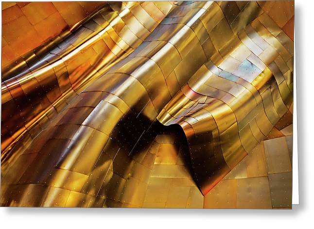 Abstract Steel Greeting Card