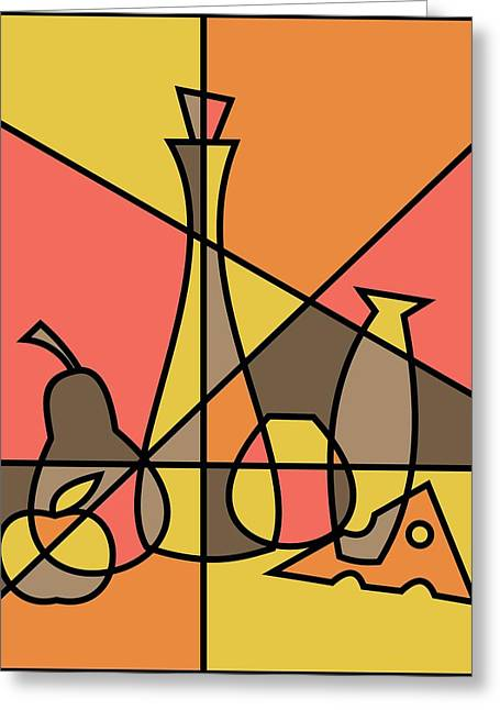 Abstract Still Life 2 Greeting Card