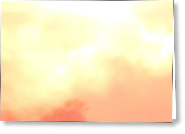 Abstract Sunrise Greeting Card