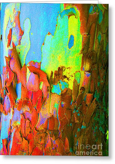 Abstract Trunk Greeting Card