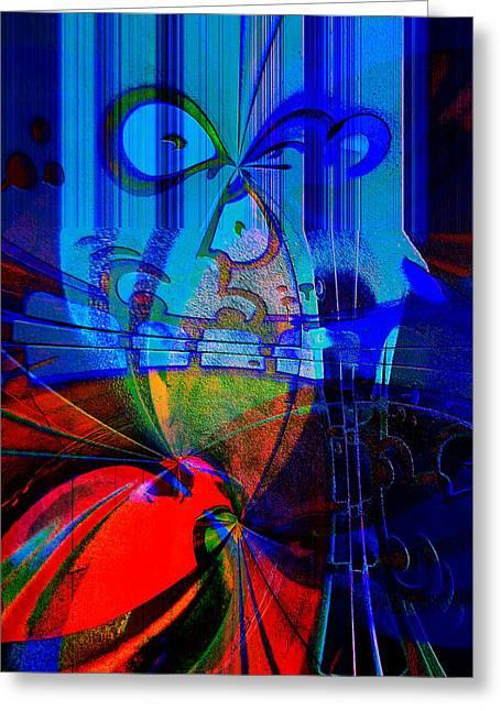 Abstract Vol1 Greeting Card by Marek Czaja