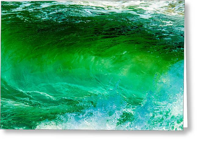 Abstract Wave 3 Greeting Card