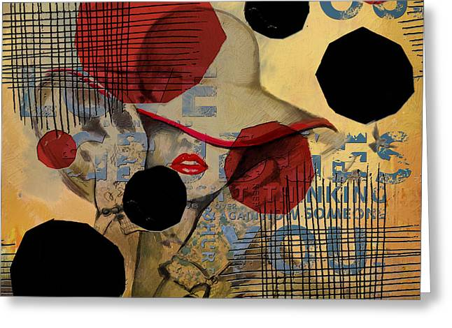 Abstract Women 07 Greeting Card
