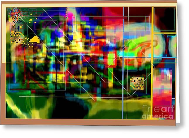 Hidden Ways Of Kedusha 3e Greeting Card by David Baruch Wolk