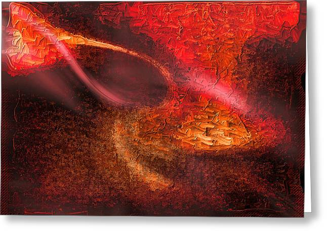 Abstract Xxiv Greeting Card by Tyler Robbins