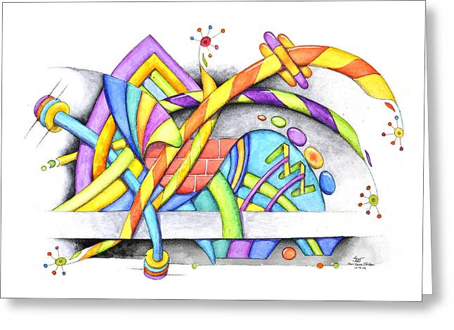 Abstracted Greeting Card