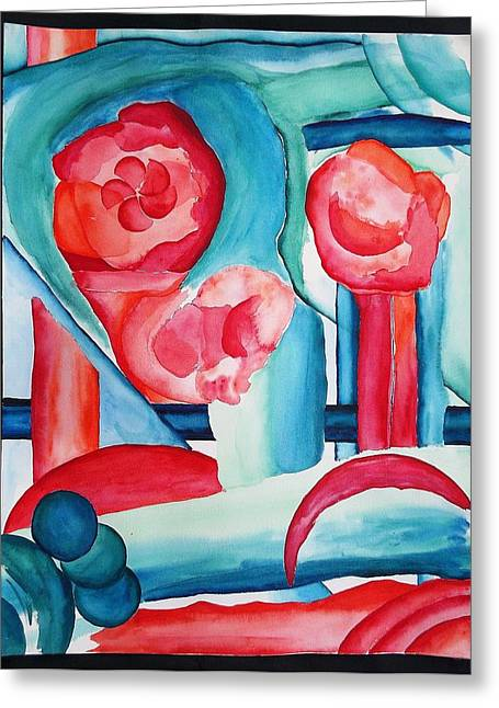 Abstraction #1 Greeting Card