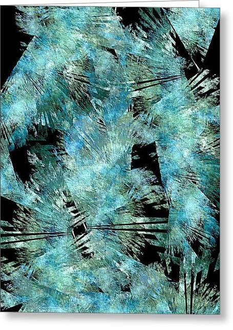 Abstraction 432-08-13 Marucii Greeting Card