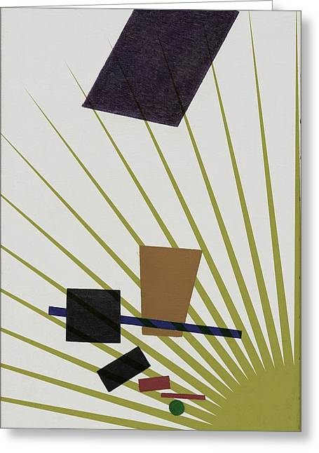 Abstractions Greeting Card by Allen Beilschmidt