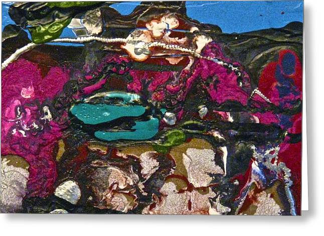 Abstracts 14 - Seascapes Greeting Card