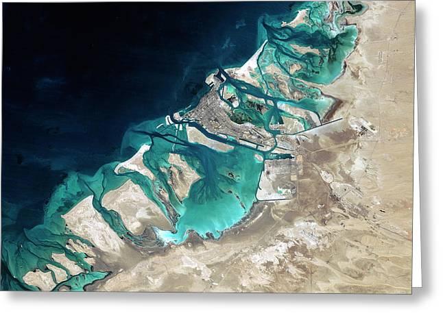 Abu Dhabi Greeting Card by Planetobserver
