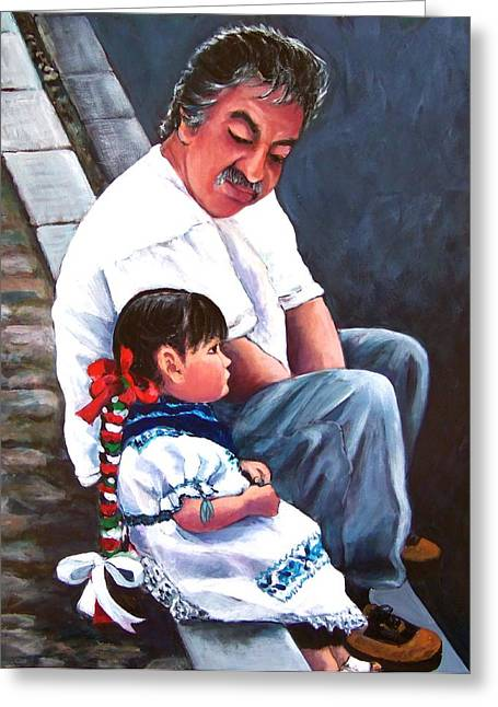 Abuelito Greeting Card