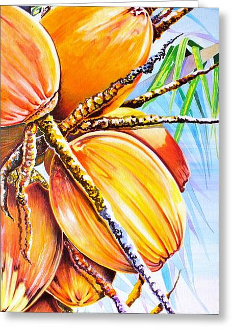 Abundance Greeting Card by Julie  Hoyle