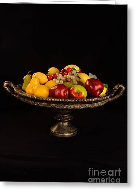 Abundant Fruit Greeting Card by Timothy OLeary