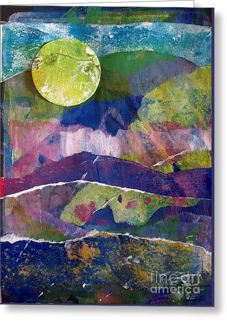 Abundant Moon Greeting Card