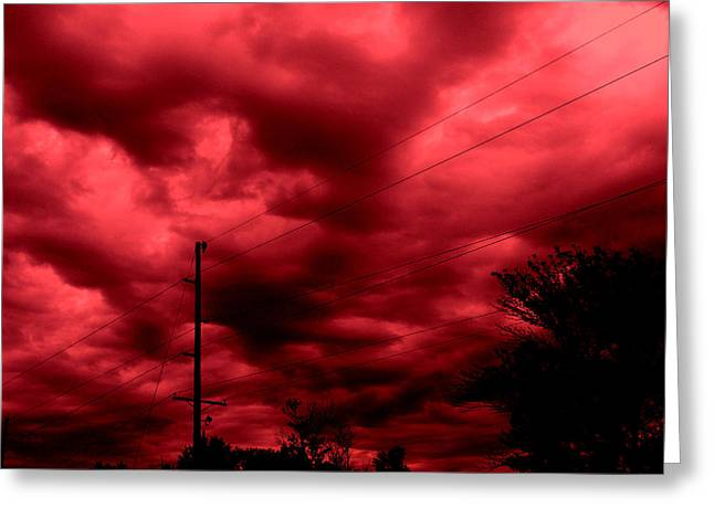 Abyss Of Passion Greeting Card by Jeff Iverson
