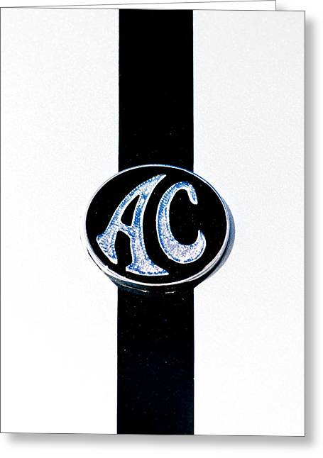 Ac Cobra Badge Greeting Card by Phil 'motography' Clark