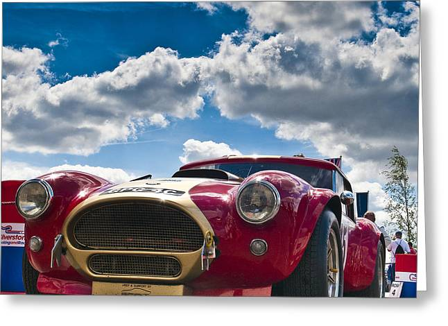 Ac Cobra Greeting Card by Mike Hayward