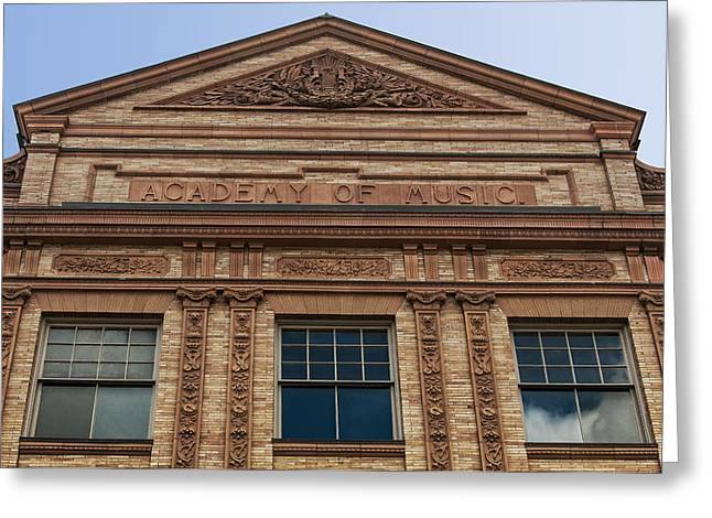 Academy Of Music Nothampton Massachusetts Greeting Card