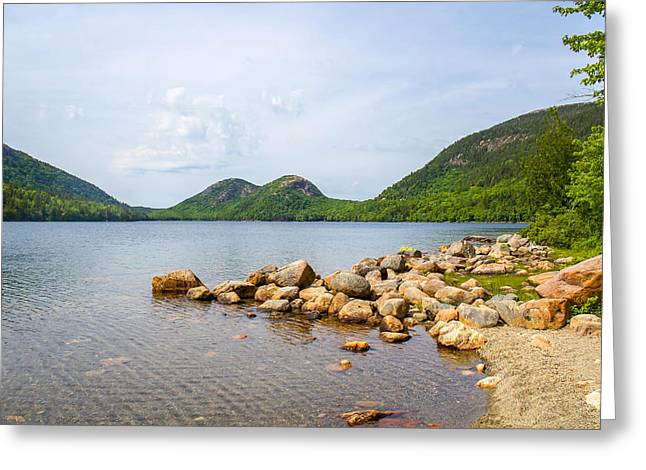 Acadia Bubble Mountains  Greeting Card