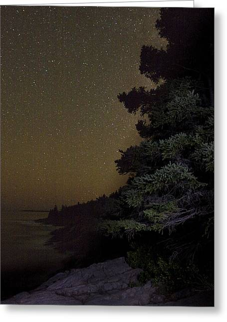 Acadia Stars 01 Greeting Card by Brent L Ander