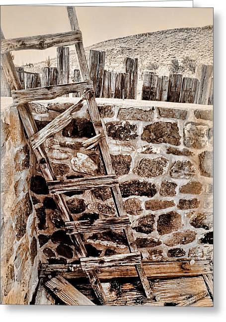 Access Denied Greeting Card by Barbara D Richards