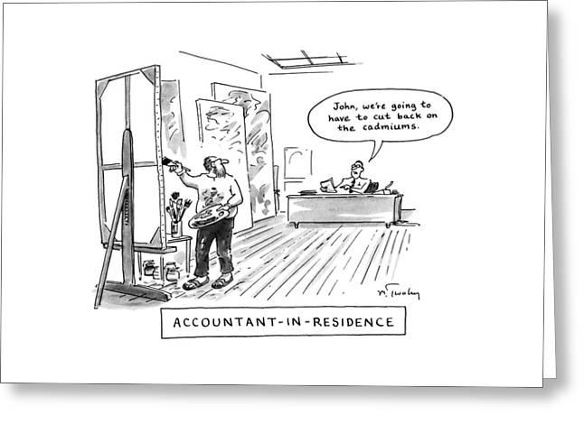 Accountant-in-residence:  John Greeting Card