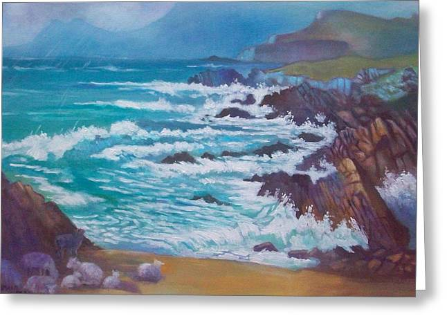 Achill Ireland Greeting Card