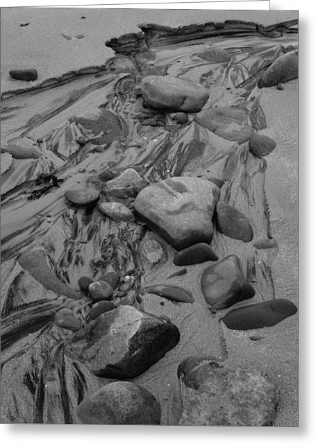 Achnahaird Beach Bw Greeting Card