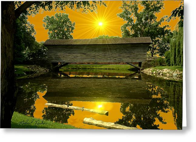 Ackley Covered Bridge Greeting Card