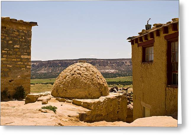 Acoma Oven Greeting Card
