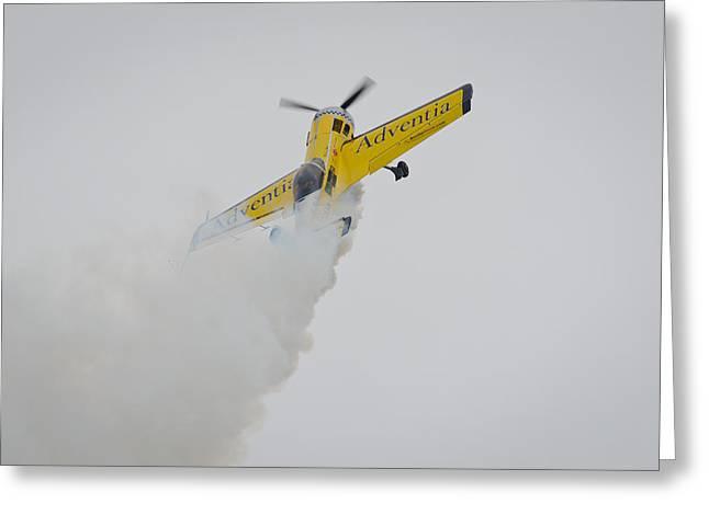Aerobatics At Cuatro Vientos II Greeting Card